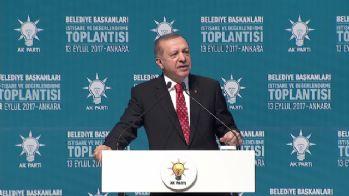 AK Partili belediyeler için de hedef koydu