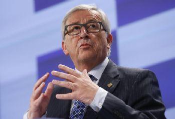 Juncker'den 'Türkiye' açıklaması