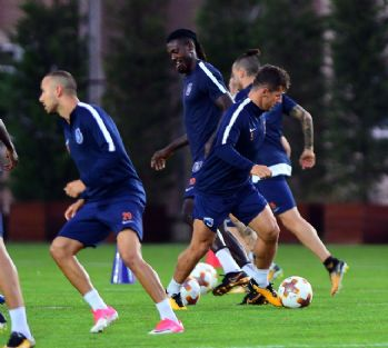 Medipol Başakşehir Ludogorets maçına hazır