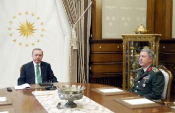 Cumhurbaşkanı Erdoğan, Genelkurmay Başkanını kabul etti