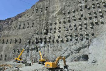 Tam 4 milyon metreküp beton kullanılacak