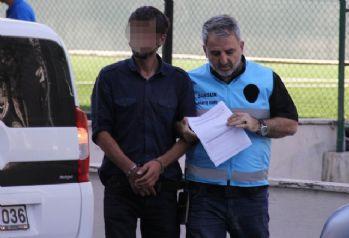 Elle taciz iddiasına tutuklama