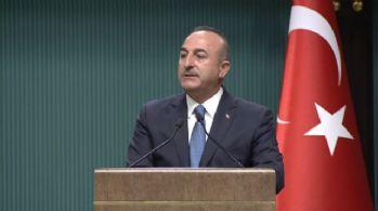 Çavuşoğlu'ndan 'referandum' açıklaması: Pazarlık içinde olmayız
