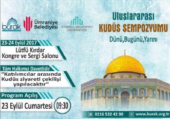 İstanbul'da Kudüs konuşulacak