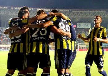Fenerbahçe yeni transferleriyle güldü! 4-1