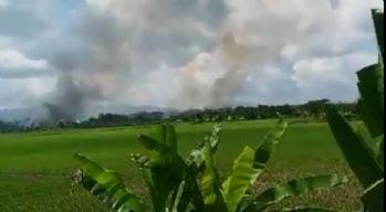 Arakanlılar'ın evleri yeniden ateşe verildi