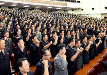 Kuzey Kore ordusundan savaş yemini!