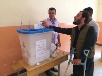 Kerkük'te oy verme işlemi sona erdi