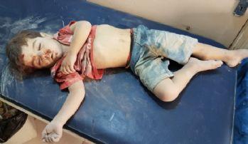Suriye rejiminin yoğun bombardımanı devam ediyor