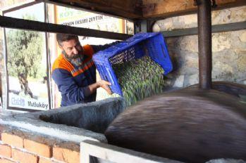 100 yıllık sistemle 'zeytin sütü' üretiyor
