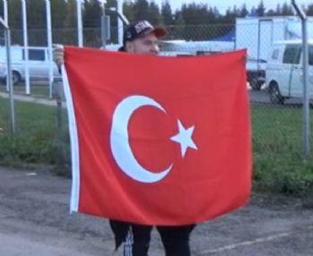 A Milli Takım'ı Finlandiya'da yalnızca bir taraftar karşıladı