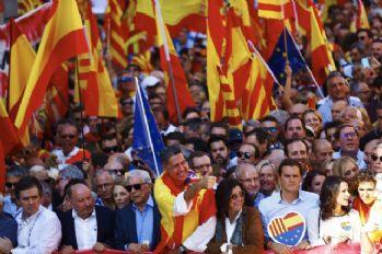 İspanyollardan 'birlik' mitingi