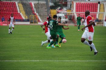 Akhisarspor hazırlık maçını kaybetti