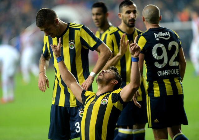 Fenerbahçe, Antalyasporu 1-0 yendi