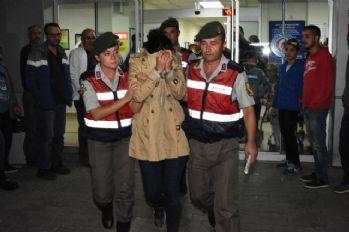 PKK'lı kadın samanlıkta yakalandı