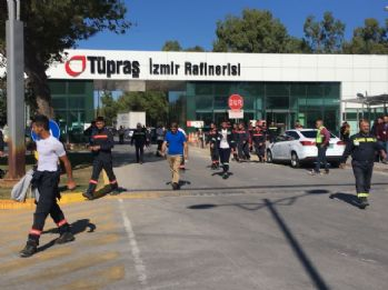 Tüpraş'taki patlamaya 7 gözaltı