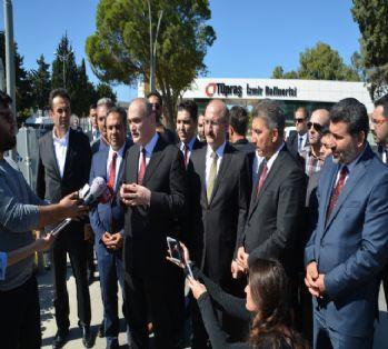 Bakan Özlü'den Tüpraş'taki patlamaya ilişkin açıklama