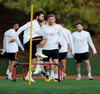Galatasaray'da Atiker Konyaspor mesaisi sürüyor
