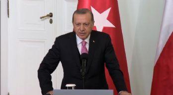 Cumhurbaşkanı Erdoğan Polonya'dan ayrıldı