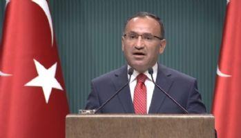 Bozdağ'dan Kuzey Irak açıklaması: 'Her türlü opsiyon masada'