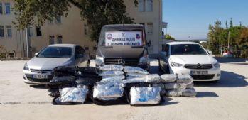 Çanakkale'de milyonluk uyuşturucu operasyonu