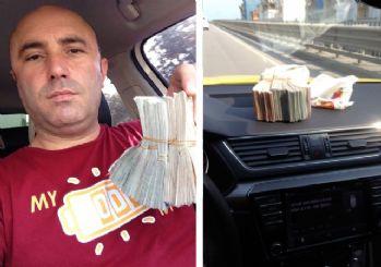 Taksisinde unutulan 42 bin TL'yi sahibine teslim etti
