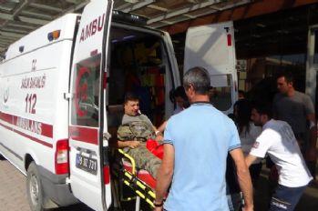 Sınırda zırhlı araç devrildi: 8 asker yaralandı
