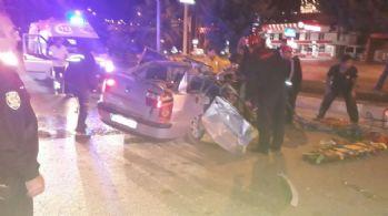 Kahramanmaraş'ta feci kaza: 2 ölü, 2 yaralı