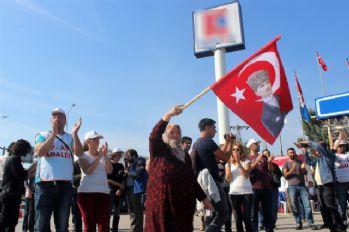 Cam işçilerinin yürüyüşü valilik tarafından yasaklandı