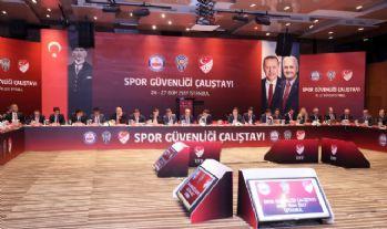 Spor Güvenliği Çalıştayı sona erdi