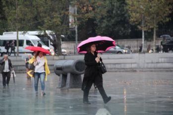 Hava sıcaklıkları azalıyor! Yağmur geliyor