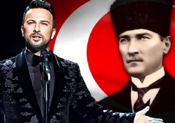 Tarkan, Atatürk için söyledi: Kırmızı gülün alı var