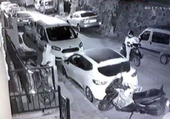 Motosikletle gelip motosiklet çaldılar