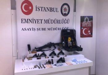 İstanbul'da örgütlü hırsızlık çetesine operasyon
