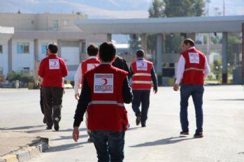 Türk Kızılayı ekibi Erbil'de