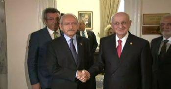 İsmail Kahraman Kılıçdaroğlu ile bir araya geldi