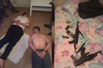 Erhan Timuroğlu'nun yakalanma anı kamerada