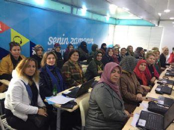Kadınlara teknoloji eğitimi