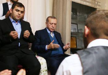Cumhurbaşkanı Eren Bülbül'ün evine gitti