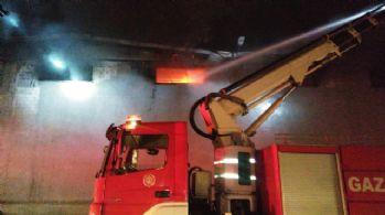 Fabrikadaki yangın kontrol altına alındı
