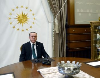 Erdoğan, Şeyh Sabah ile görüştü