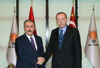 Erdoğan BBP heyetini konuk etti