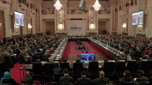 AGİT Bakanlar Konseyi toplantısı başladı