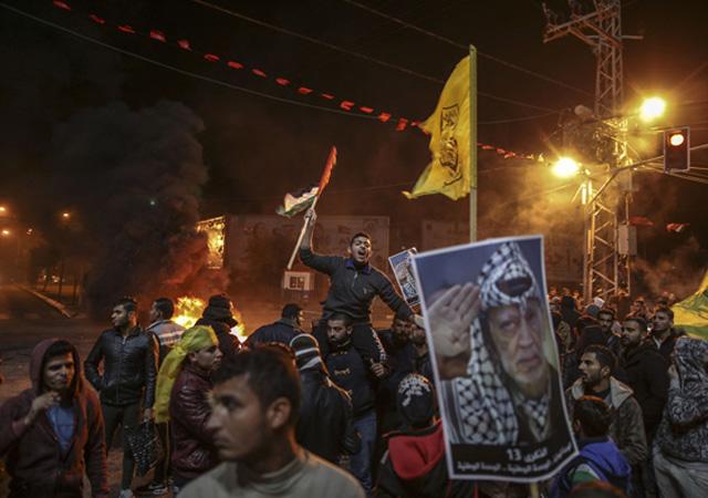 Filistinliler ayakta! Sokaklar kaynıyor! Genel grev başladı...