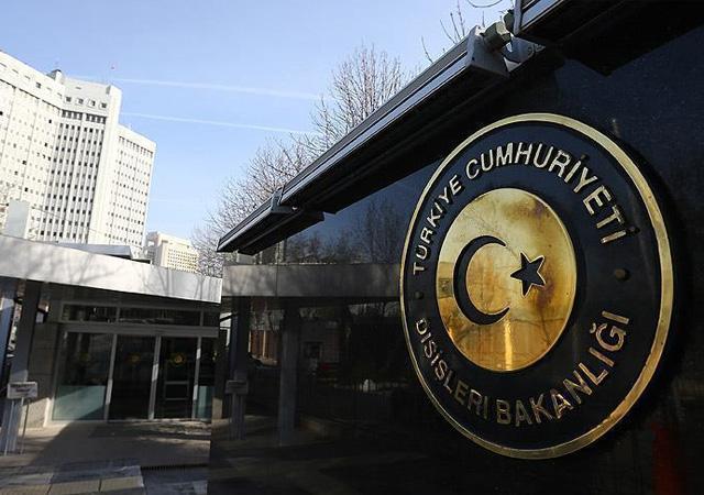ABD Ankara Büyükelçiliği maslahatgüzarı Dışişleri'ne çağrıldı
