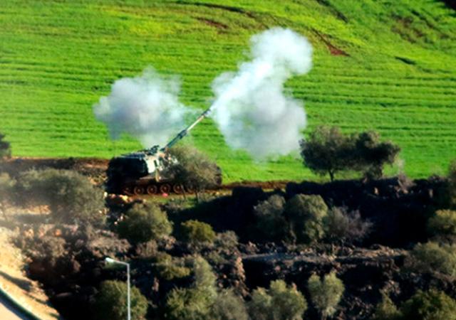Afrin'de Kurni dağlarının zirvesi ele geçirildi