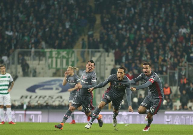Bursaspor-Beşiktaş maçı golleri ve geniş özeti