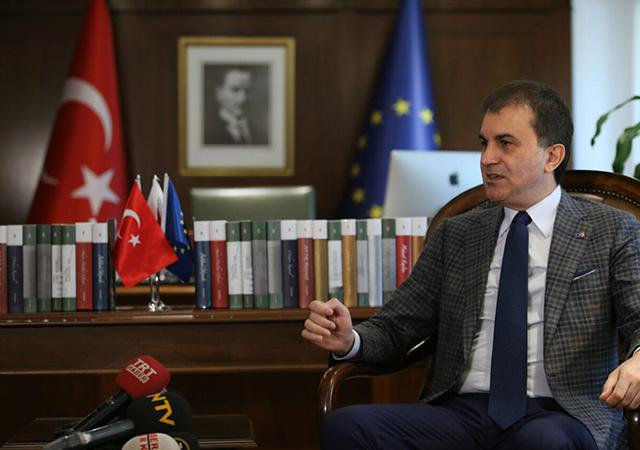 AB Bakanı Çelik: Vize ile ilgili çalışmayı tamamladık