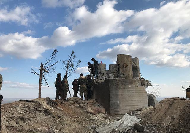 Afrin'in Deyr Ballut köyü teröristlerden temizlendi