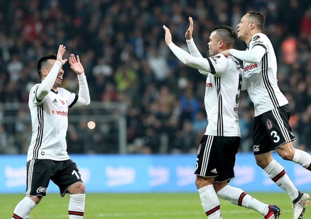 Beşiktaş gol oldu yağdı! 5-0